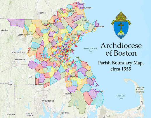 Archdiocese of Boston Map Cropped