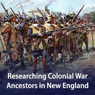 Colonial Wars no dates