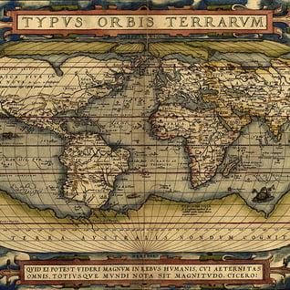 ortelius-world-map-square