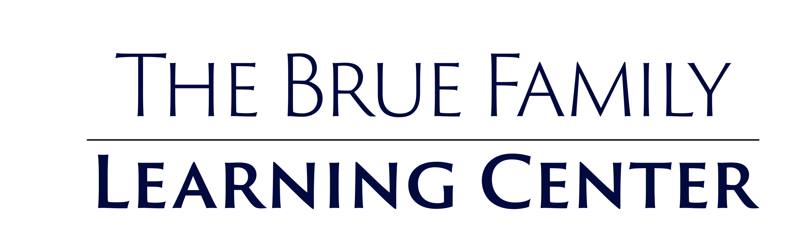 The Brue Family Learning Center_Stacked